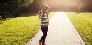 dziewczyna w ciąży